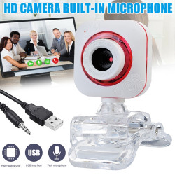 2020 Webcam USB2.0 Camera Auto Focus Web CamerasWebcams With Microphone For Windows 2000/Win10 For Desktop Computer